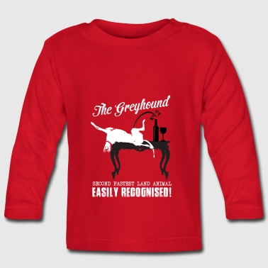The greyhound - Baby Long Sleeve T-Shirt