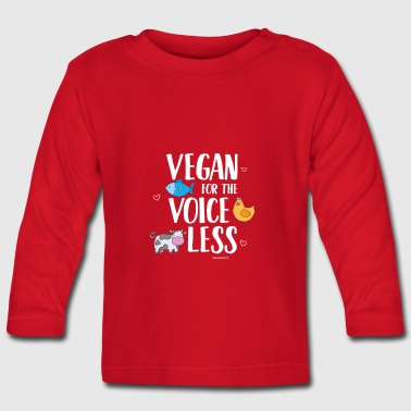 Vegan For The Voiceless - Baby Long Sleeve T-Shirt