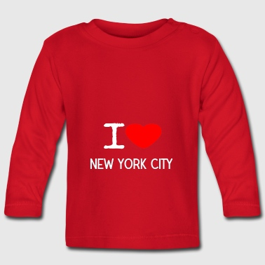 I LOVE NEW YORK CITY - Baby Langarmshirt