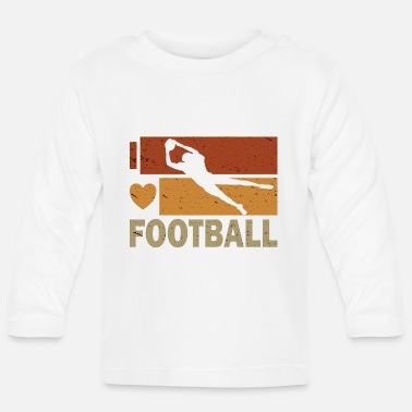 Wide Receiver American football wide receiver quarterback - Baby longsleeve