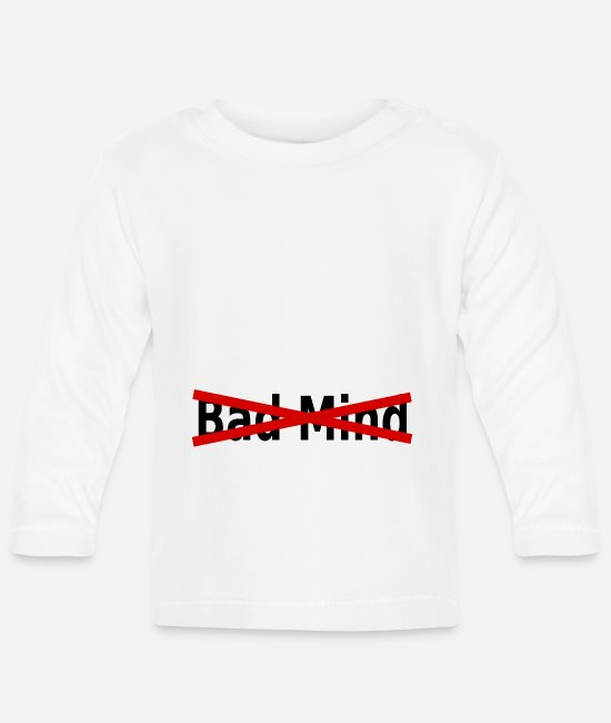 Dancehall Baby Long-Sleeved Shirts - BadMind - Baby Longsleeve Shirt white
