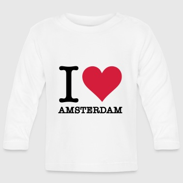 I love Amsterdam - Baby Long Sleeve T-Shirt