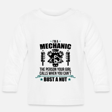 Mechanic Funny Mechanic - mechanic - Baby Longsleeve Shirt