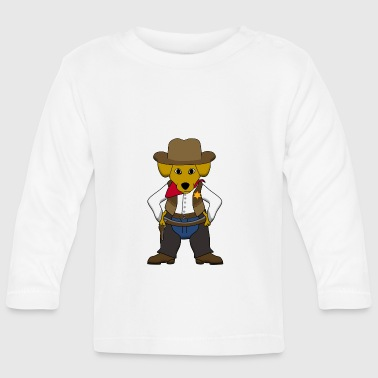 Sheriff dog - Camiseta manga larga bebé