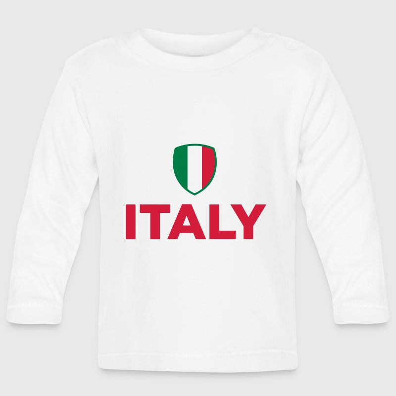 National flag of Italy - Baby Long Sleeve T-Shirt