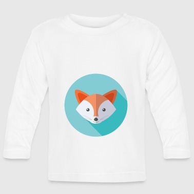 Vector Vector fox - Baby Long Sleeve T-Shirt