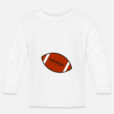 Rugby Rugby team football fan rugby team american football - Baby Longsleeve Shirt
