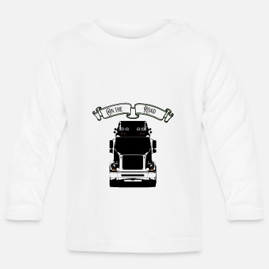 Road Transport Truck Occupation Transport - Baby Longsleeve Shirt