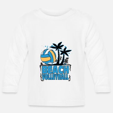 Beachvolleyboll Beachvolleyboll - Långärmad baby T-shirt