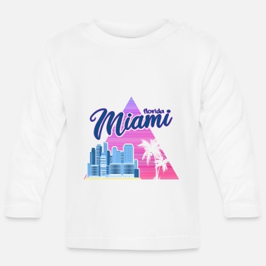 Spring Break Miami Neon Upside - T-shirt manches longues Bébé