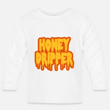 Blaxploitation Honey Dripper - Baby Longsleeve Shirt