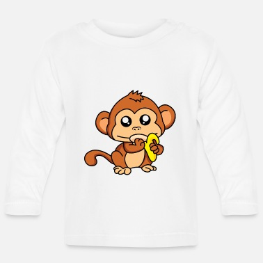 Meal Meal monkey - design - Baby Longsleeve Shirt