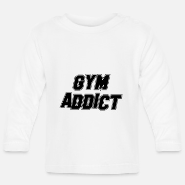 Health (FITNESS EDITION) GYM ADDICT Health Health Fit Training - Langarmet baby T-skjorte