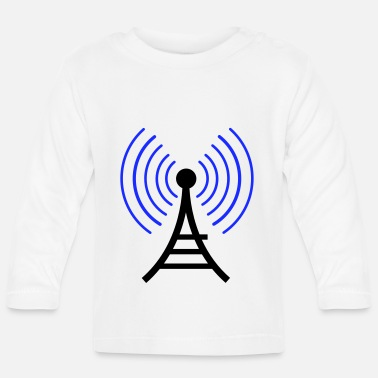 Radio Tower radio wireless tower - Baby Longsleeve Shirt