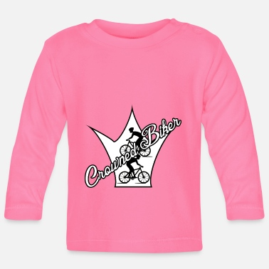 Bike cyclist bike cyclist saying - Baby Longsleeve Shirt