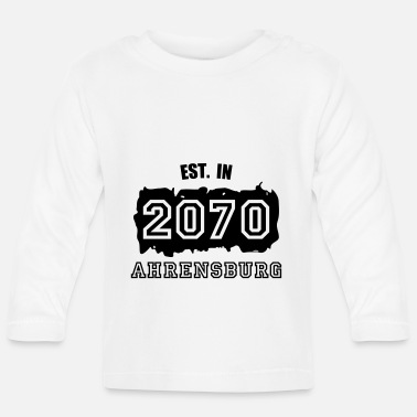 2070 Established 2070 Ahrensburg - Baby Langarmshirt