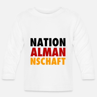 Nationalmannschaft nationALMANnschaft - Baby Langarmshirt