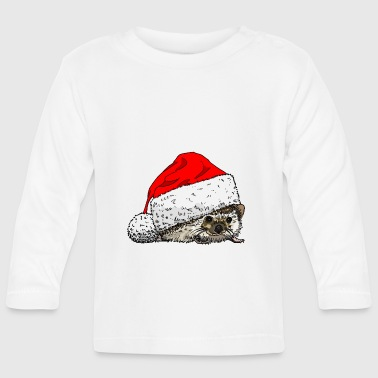 christmas_hedgehog - Baby Long Sleeve T-Shirt