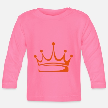 Crown to print on for hoodie, t-shirt, bag - Baby Longsleeve Shirt