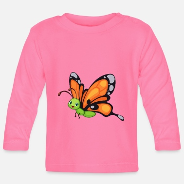 Wildlife Schmetterling Butterfly Zoo Safari - Baby Longsleeve Shirt