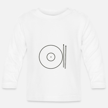 Drums Cymbals Food - Baby Longsleeve Shirt