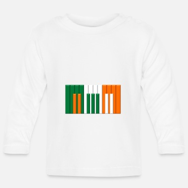 Irish IRISH KEYBOARD - Baby Longsleeve Shirt