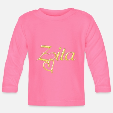 Womens Name Zita name first name women - Baby Longsleeve Shirt