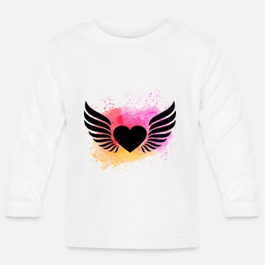 Beautiful HeART - Baby Langarmshirt