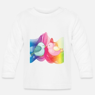 Beautiful Birds - Baby Langarmshirt