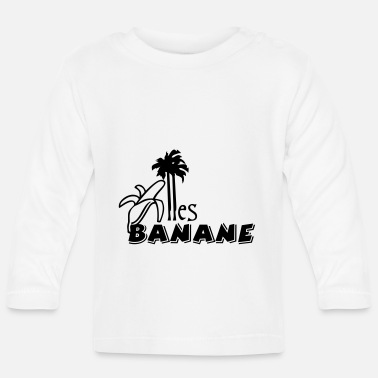 All Clear Alles total Banane / All Banana (1c) - Baby Langarmshirt