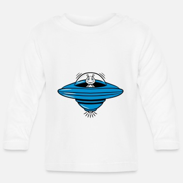Witty ufo witty - Baby Longsleeve Shirt