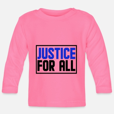 Antifa justice for all - Baby Longsleeve Shirt