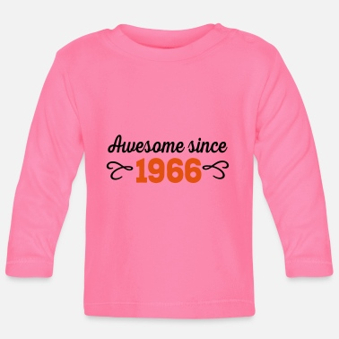 Awesome Since awesome since 1966 - Baby longsleeve