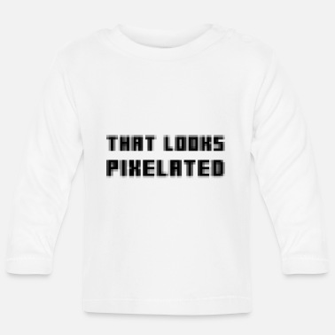 Pixel Pixelated - Baby Longsleeve Shirt