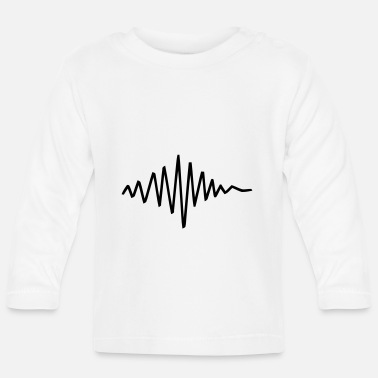 Frequency Frequency Pulse - Baby Longsleeve Shirt