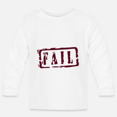 Writing fail writing - T-shirt manches longues Bébé