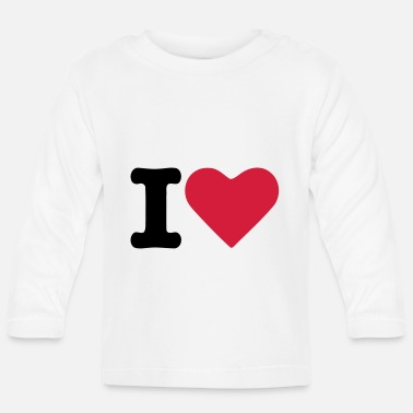 Tlc Heart Love - Baby Langarmshirt