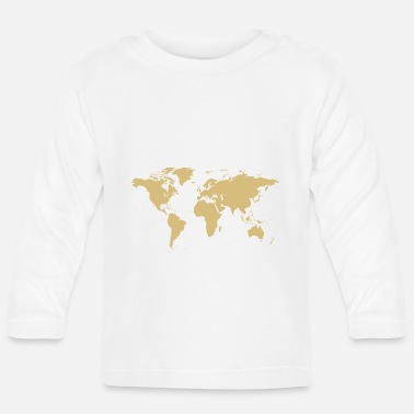 Map World map map - Baby Longsleeve Shirt