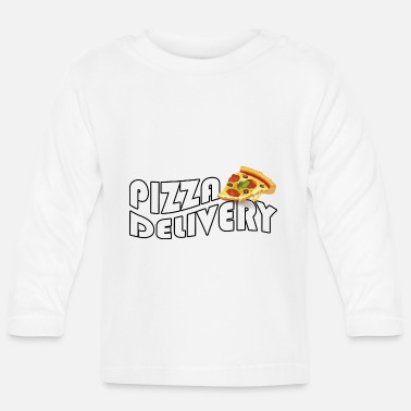 Delivery Pizza Delivery, Italian delivery service - Baby Longsleeve Shirt