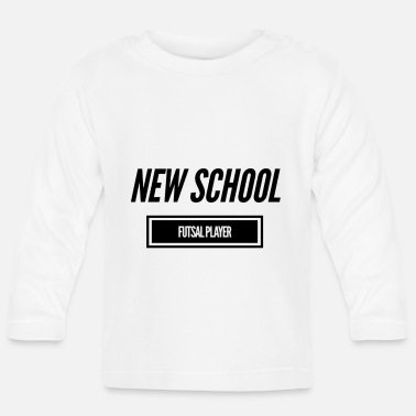 Soccer Futsal - New School Futsal Player - Baby Langarmshirt