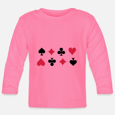 Cards Card Suits - Baby longsleeve