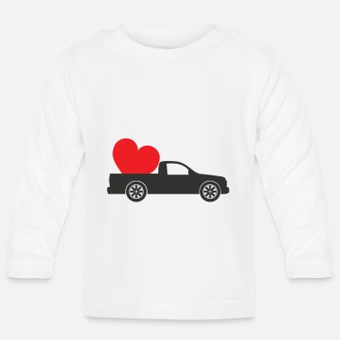 Pick Up Line pick up love - Baby Longsleeve Shirt