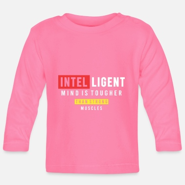 Geest Intelligente geest is harder - Baby longsleeve
