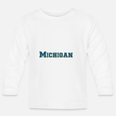 Michigan Michigan - Långärmad baby T-shirt