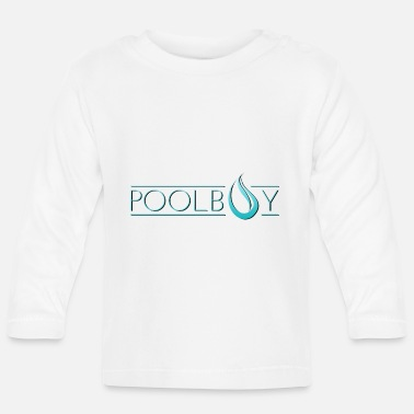 Pool Poolboy Pool Pool 1 - T-shirt manches longues Bébé