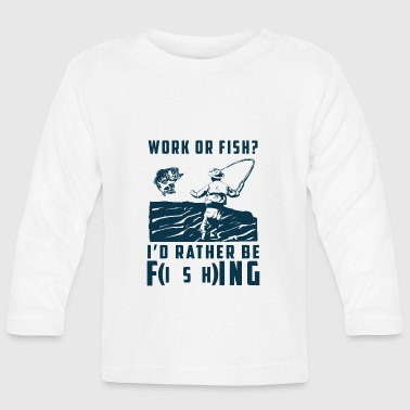 Werk of vis? - T-shirt