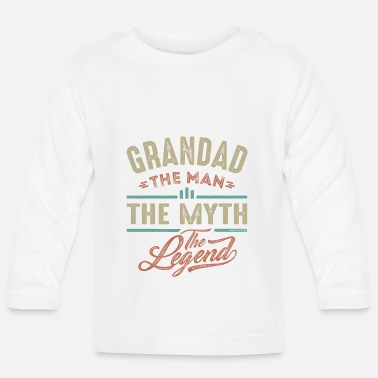Grandad Grandad The Legend - Baby Longsleeve Shirt