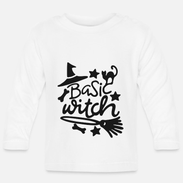 Witch Witch Basic Witch - Baby Longsleeve Shirt