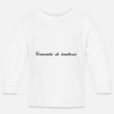 Tenderness CONCENTRATE OF TENDERNESS - Baby Longsleeve Shirt