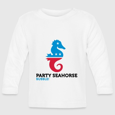 Political Party Animals: Seahorse - Baby Long Sleeve T-Shirt